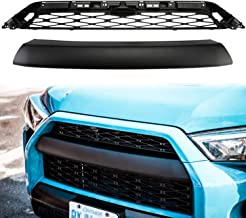 Front Grill for Toyota 4Runner 2014-2019 SR5 Trail TRD PRO, 2 Parts Replacements