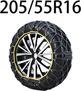HEIFEN Car Snow Chains Snow Chain 175-225 in A Variety of Models Oxford Material Anti-Skid Emergency Full Enclosure to Improve Grip