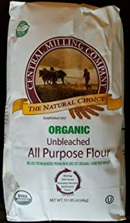 rganic Unbleached All Purpose Flour Kosher Certified by OU 10 Lbs (1 Pack)