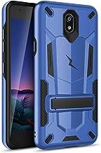 ZIZO Transform LG Escape Plus Case | Dual-Layer Protection w/Kickstand, Military Grade Drop Protection Designed for LG Escape Plus (Blue/Black)