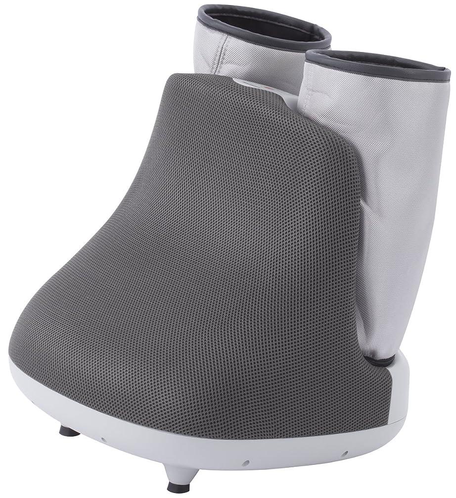 現実的状態靴スライヴ しぼりもみフットマッサージャー(足裏ローラーマッサージ機能搭載) グレー 「通販限定モデル」 MD-8701(H)