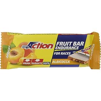 ProAction Fruit Bar (albicocca, confezione da 24 barrette da 40 g)