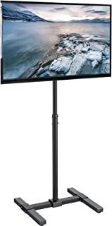 VIVO TV Floor Stand for 13 to 42 inch Flat Panel LED LCD Plasma Screens | Portable..