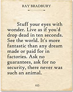 Best stuff your eyes with wonder quote Reviews