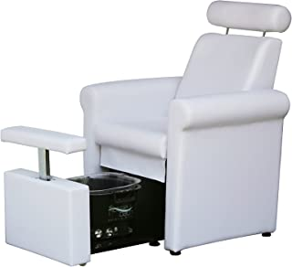 BR Beauty Mona Lisa Pedicure Chair - White