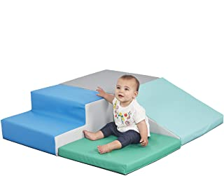 ECR4Kids SoftZone Little Me Foam Corner Climber - Indoor Active Play Structure for Toddlers and Kids - Soft Foam Play Set, Contemporary