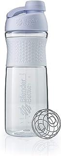 BlenderBottle SportMixer Twist Cap Tritan Grip Shaker Bottle, 28-Ounce, White