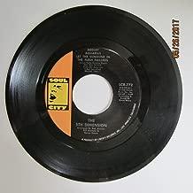 The 5th Dimension 45 RPM Medley Aquarius Let The Sun Shine In The Flesh Failures / Don'tcha Hear Me Callin' To Ya