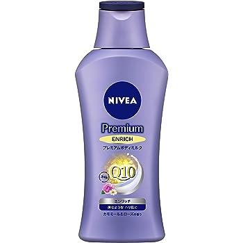 ニベア プレミアム ボディミルク エンリッチ カモミール&ローズの香り 190g 【 弾むようなハリ肌に 】 &ltボディ用乳液 &gt 超乾燥肌