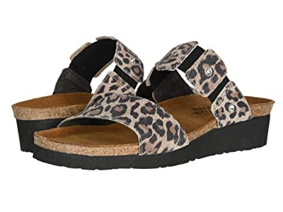 Naot Ashley (Cheetah Suede) Women