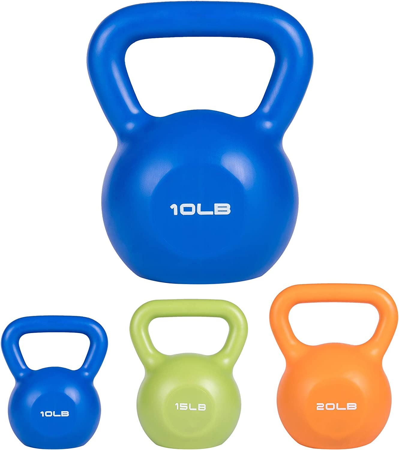 quality assurance VOMSASN Kettlebell Weight Sets for 10LB service Workouts 1 Gym Home