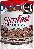 SLIM FAST | Hecho en EUA | Malteada Importada SLIM FAST Original | Polvo para Preparar Malteada | 1,36 kg (3 lb) | 42...