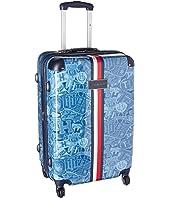 """Tommy Hilfiger TH-658 Varsity 25"""" Upright Suitcase"""