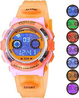 Kid Watch LED Sport 30M Waterproof Multi Function Digital...