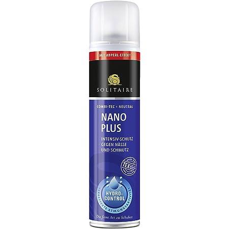 Solitaire Nano Plus Spray imprégnant 400 ml de protection contre l'humidité et la saleté -Convient pour tous les cuir lisses et fumés ainsi que les textiles
