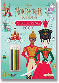 The Nutcracker and the Four Realms Colouring Book with Pencils