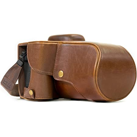 Megagear Ever Ready Leather Camera Case Bag For Canon Camera Photo