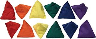 Sportime Triangle Bean Bags, Set of 12-1478834