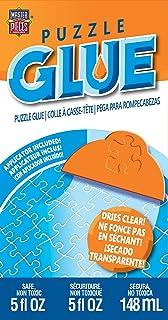 MasterPieces Accessories, Jigsaw Puzzle Glue Bottle & Wide Plastic Spreader, 5 Ounces..