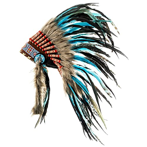 Native American Indian Chief Long Arrow Adult Halloween Costume
