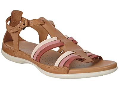 ECCO Flash Huarache Sandal (Cashmere Cow Nubuck) Women