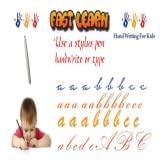Fast Learn improve handwriting and typing, use your finger, stylus pen or mouse to practice!