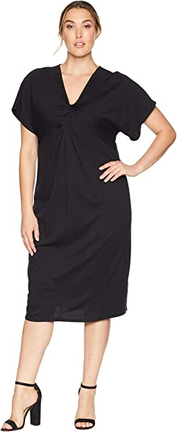 Plus Size Aubri Twist Knit Dress