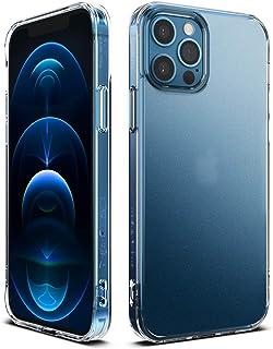 【Ringke】iPhone 12 Pro Max ケース 6.7 インチ 対応 指紋防止 半透明 スマホケース マット クリア カバー ストラップホール付き 落下防止 アイフォン12プロマックスケース Fusion Matte (Frost ...