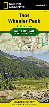 Taos, Wheeler Peak (National Geographic Trails Illustrated Map)