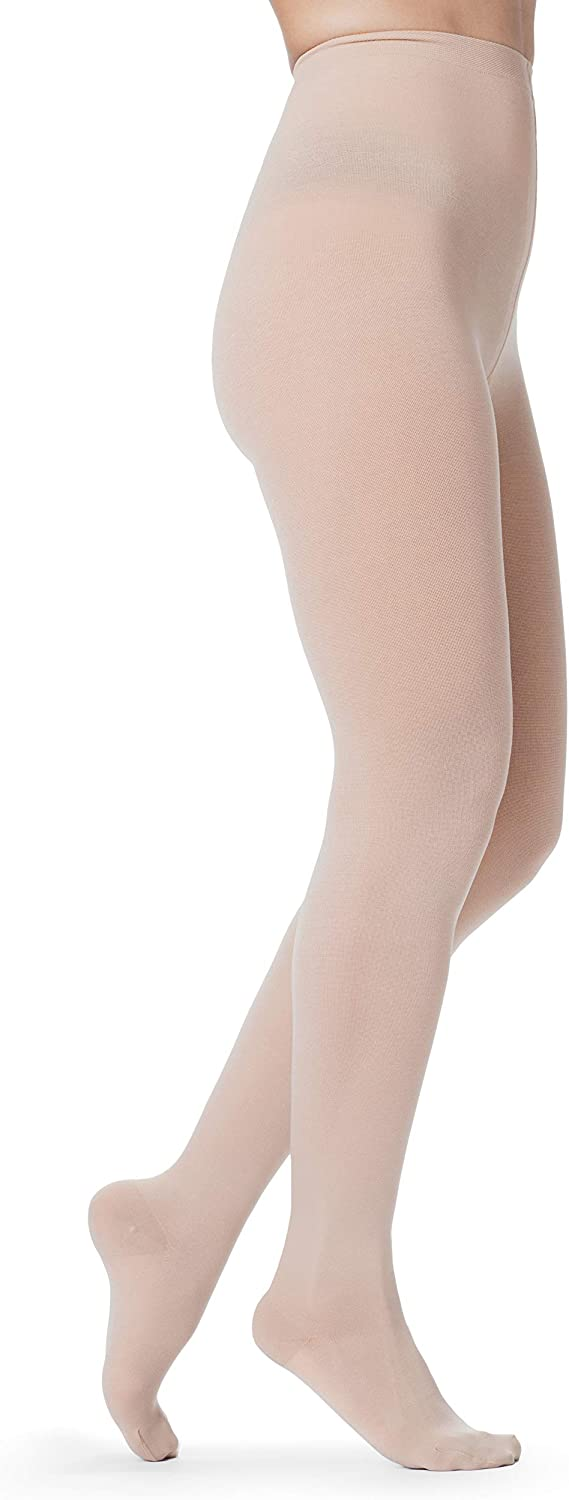 Omaha Mall SIGVARIS Women's Essential Daily bargain sale Opaque 860 Toe Closed Pantyhose 30-40