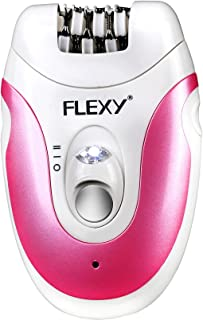 FLEXY® Germany Cordless 3 in 1 Ladies Beauty Toolkit & Perosonal Shaver Groomer Set With 3 Accessories