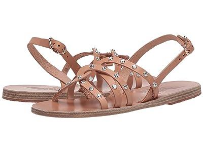 Ancient Greek Sandals Schinousa Rivets (Natural) Women