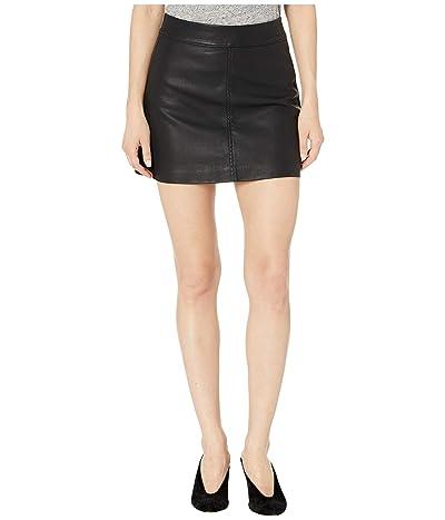 Blank NYC Faux-Leather Mini Skirt in Deja Boo (Deja Boo) Women