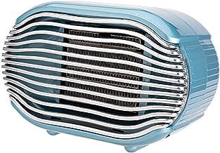 FAIRYPIE Calentador de cerámica PTC sin Llama Abierta de bajo Ruido Mini Calentador portátil de Escritorio pequeño hogar 800w,Azul