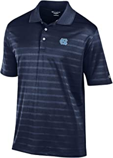 Gear for Sports NCAA Men's Blue Embroidered Textured Fabric Polo Shirt