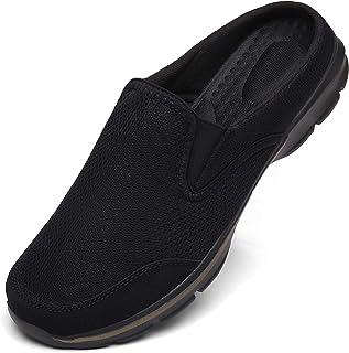 INMINPIN Zoccoli Donna Uomo Cotone Sabot Traspiranti Comode Pantofole da Casa Leggero Antiscivolo Ciabatte all'aperto