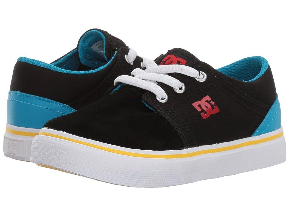 DC Kids Trase Slip (Toddler) (Black/Multi) Boys Shoes