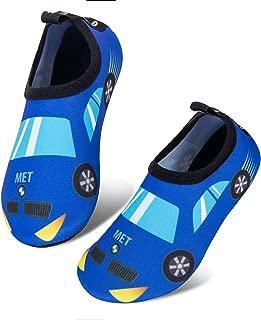 Mabove Kids Swim Water Shoes Non-Slip Quick Dry Barefoot Aqua Pool Socks Shoes for Boys & Girls Toddler