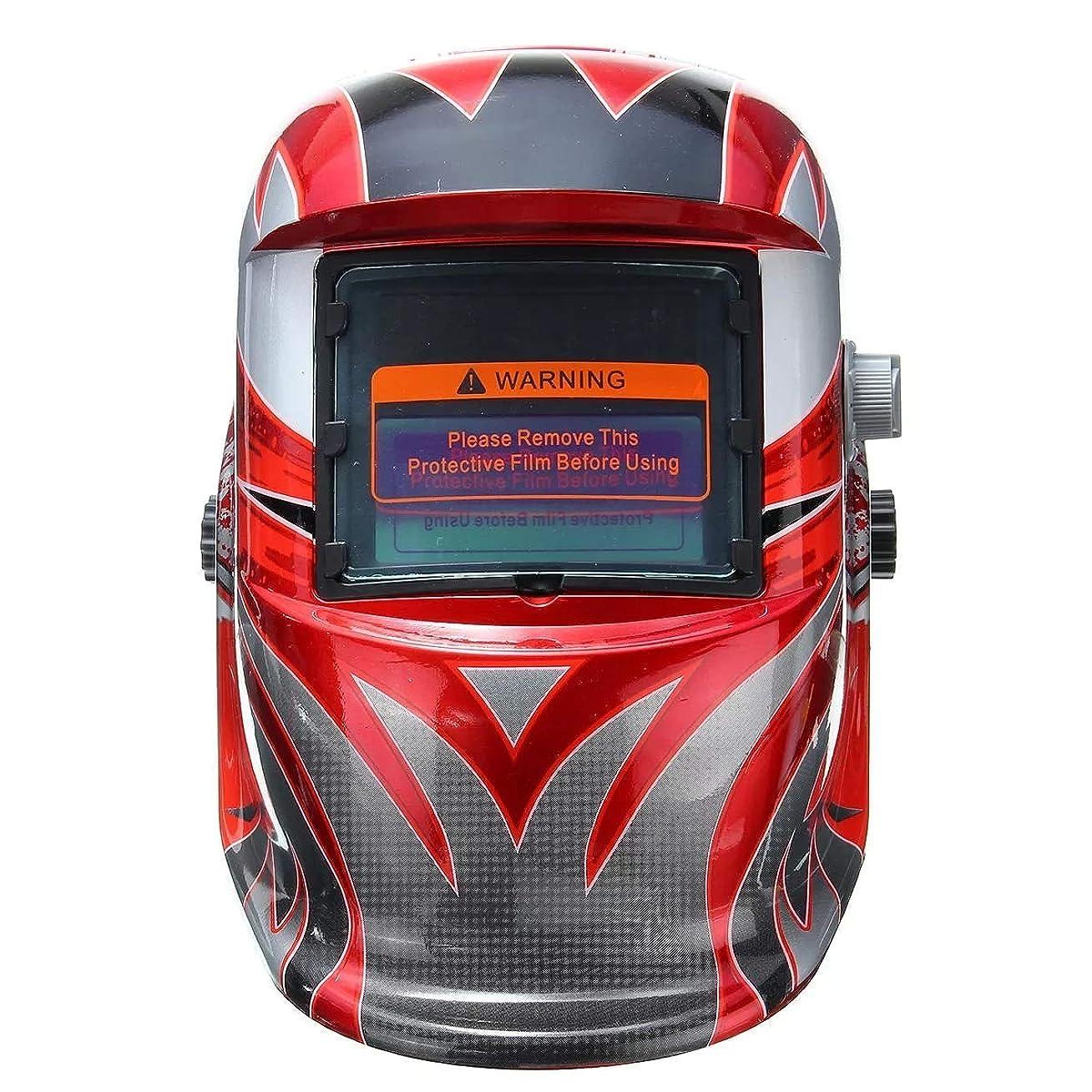 バージンダウンタウン偏差CHUNSHENN 自動遮光溶接ヘルメット プロフェッショナルプロテクトツールのソーラーオート暗く溶接機溶接ヘルメット頭盾研削ヘルメットマスク 溶接マスク
