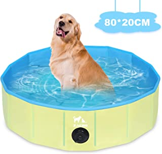 Zacro Piscina Plegable para Perros para Niños/Mascotas