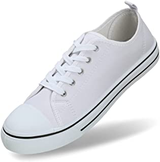 Mens's Canvas Shoes Low Top Fashion Sneaker Lace Up...