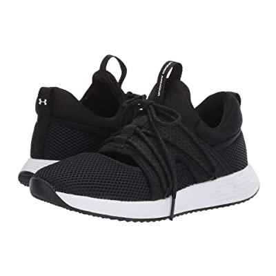 Under Armour UA Breathe Sola (Black/Black/White) Women