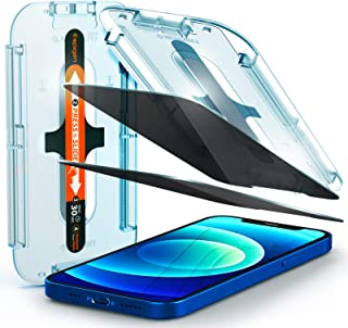 Spigen iPhone 12/12 Pro Privacy Glass Screen Protector - 2 Pack