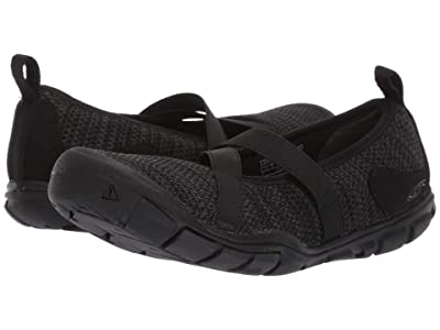 Keen Hush Knit MJ CNX (Black/Raven) Women