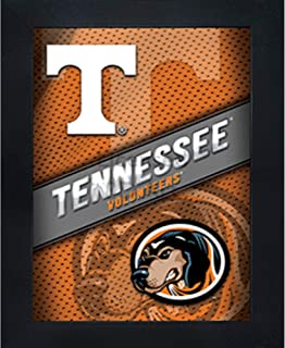 Tennessee Volunteers 3D Poster Wall Art Decor Framed Print | 14.5x18.5 | UT Vols Lenticular Posters & Pictures | Gifts for Guys & Girls College Dorm Room & Bedroom | NCAA Smokey Team Fan Logo & Mascot