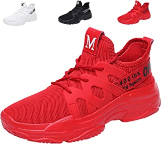 071afc3eb42939 Mens Fashion Sneakers Lightweight Breathable Running Shoes Mesh Athletic  Casual Walking Shoes