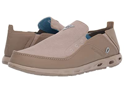 Columbia Bahamatm Vent PFG (Khaki MHW/Blue Chill) Men