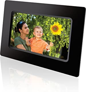 GPX PF711B 7-Inch Digital Photo Frame with SD/MMC Memory Card Reader