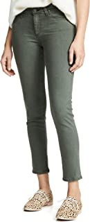 AG Adriano Goldschmied Women's Prima Mid-Rise Cigarette Leg Skinny Fit Ankle Pant
