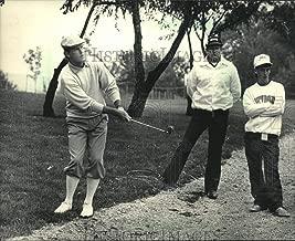 1986 Press Photo Golfer Payne Stewart, dressed in knickers, struggles to a 75